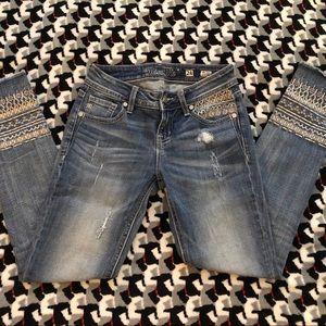 Miss Me Ankle Skinny Jeans